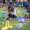 Dzień bez śmiecenia - praktyczne zajęcia z segregacji śmieci w gr. Pszczółek, Kwiatuszków i Tygryskó