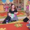 Rodzice czytają dzieciom, mama Patrycji G.