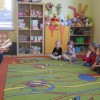 Rodzice czytają dzieciom, mama Igorka M