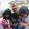 Pan Kamil motocyklista gościem gr. Pszczółek.