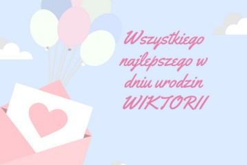 Urodziny Wiktorii.