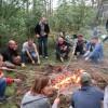 ,, Płonie ognisko w lesie'