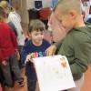 Kropeczki zwiedzały Bibliotekę Pedagogiczną.