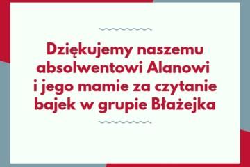 Mama i brat Błażejka.