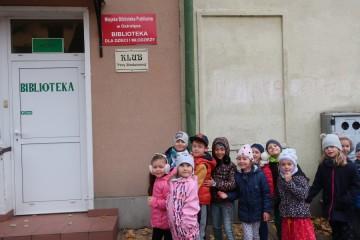 Kropeczki w Bibliotece dla Dzieci i Młodzieży.