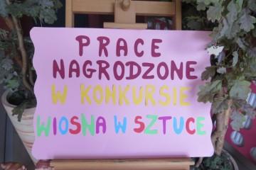 Prace nagrodzone w konkursie Wiosna w Sztuce.
