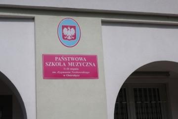 Kropeczki na koncercie w Państwowej Szkole Muzycznej I i II stopnia w Ostrołęce.