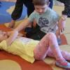 Ćwiczenia pierwszej pomocy w gr. Kwiatuszków
