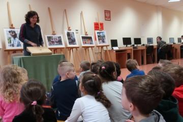 Kropeczki w Miejskiej Bibliotece Pedagogicznej.