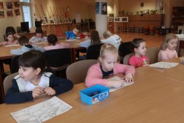 Misie w Miejskiej Bibliotece Pedagogicznej.