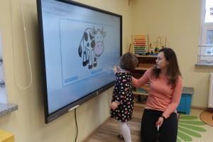 Historia komputera – tworzenie memory z użyciem monitorów interaktywnych i tablic multimedialnych.