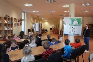 Tygryski w Miejskiej Bibliotece Pedagogicznej