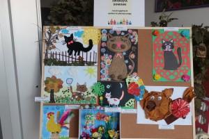 Wewnątrzprzedszkolny konkurs plastyczny pt. ,, Zwierzęta domowe z motywem wycinanki kurpiowskiej'