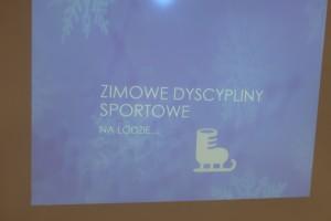 Igrzyska Olimpijskie – poznanie zimowych dyscyplin sportowych gr Kropeczek