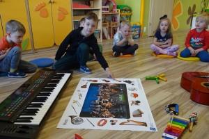 Nazwa: Instrumenty muzyczne – wykonanie instrumentów muzycznych w gr Tygrysków