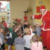 Mikołaj w grupie Misiów
