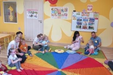 Dzień otwarty dla naszych nowo przyjętych przedszkolaków