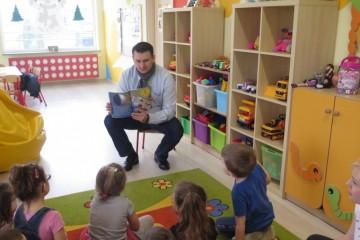 'Rodzice czytają dzieciom' tata Oliwierka B.