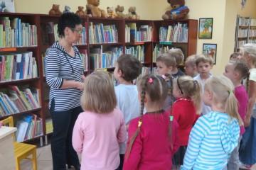 Kropeczki w Filii Biblioteki Publicznej