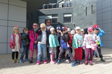 Wycieczka  Tygrysków i Misiów do Państwowej Szkoły Muzycznej.