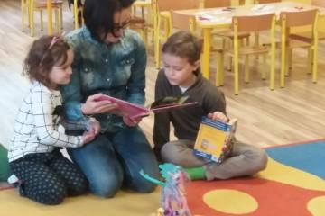 Rodzice czytają Dzieciom - mama Gabrysi.