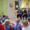 Gościliśmy w naszym przedszkolu młodzież i nauczycieli ze szkolnego koła PCK przy ZSZ nr 4 w Ostrołę