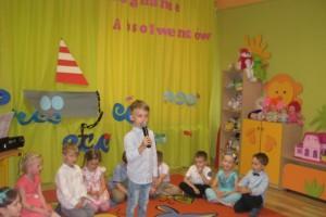 ,,Każdy przedszkolak-Mały Patriota-Wielki Człowiek' plakat w ramach Międzynarodowego Projektu ,, Pię