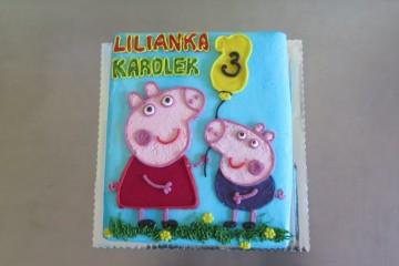 Urodziny Lilianki i Karolka.