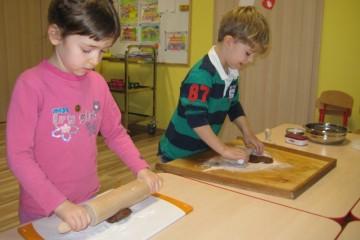 Dzieci z Bajeczki robiły pierniki