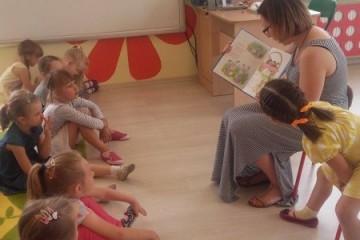 'Rodzice czytają dzieciom' mama Gabrysi