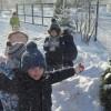 Piękne zimowe zabawy gr. Tygrysków