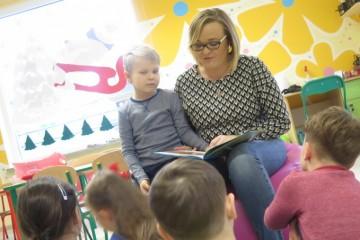 'Rodzice czytają dzieciom' mama Piotrusia
