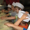 Tygryski uczestniczyły w tworzeniu pizzy