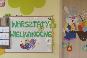 Warsztaty Wielkanocne w gr. Misiów