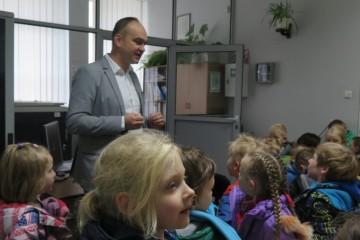 Wycieczka Kropeczek, Misiów i Tygrysków na Pocztę Polską.