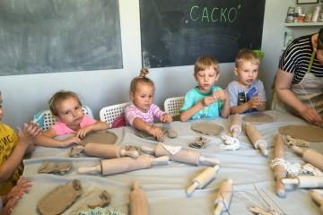 Misie na wrsztatach w pracowni kreatywności CACKO 14.06