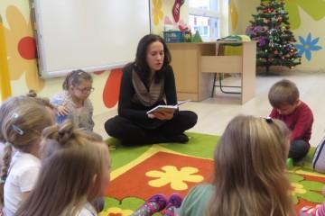 'Rodzice czytają dzieciom' mama Nel.