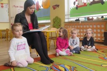 'Rodzice czytają dzieciom' mama Wiktorii