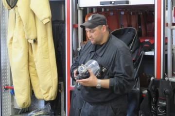 Tata Karolinki, Ochotnik Strażak zaprosił nas do Ochotniczej Straży Pożarnej