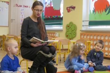 'Rodzice czytają Dzieciom' mama Piotrusia R.