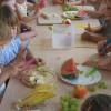 Robiliśmy sałatkę owocową (07.07.2015)